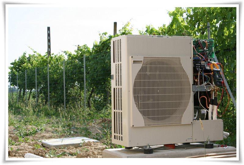 Progettazzione e montaggio impianti a pompa di calore per for Asciugatrici condensazione o pompa di calore